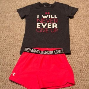 Under armor outfit for girls